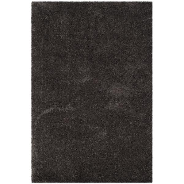 Safavieh Reno Shag Dark Grey Polyester Rug - 8' x 10'