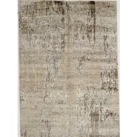 Hand-knotted with Modern Design Area Rug  (5' 2 x 8' 1)