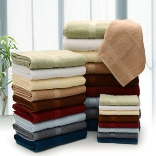 Cheer Collection 4 Piece Luxurious Wash Cloth Set