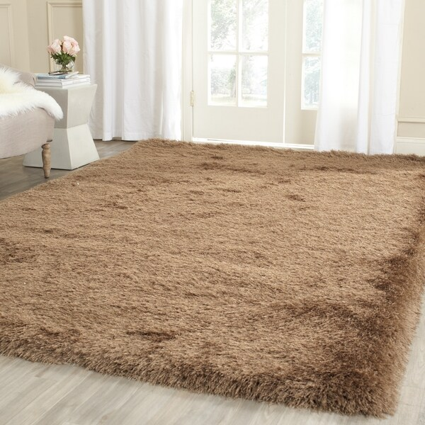 Safavieh Hand-Knotted Thom Filicia Taupe Wool Rug - 7'6 x 9'6