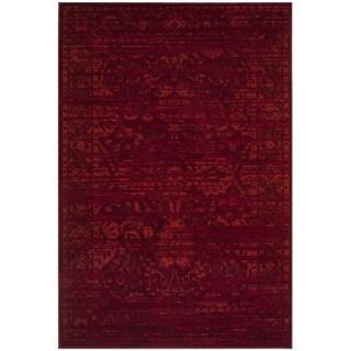 Safavieh Tunisia Red/ Orange Rug (9' x 12')