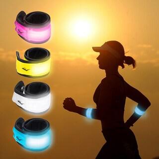 Everlast Pink LED Light Up Safety Running, Biking and Activity Slap Bracelet