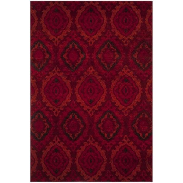 Safavieh Tunisia Red/ Orange Rug - 8' x 10'