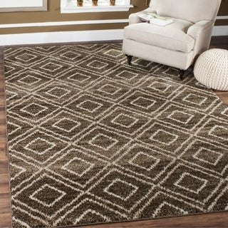 Safavieh Tunisia Brown/ Cream Rug (9' x 12')