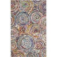 Safavieh Handmade Nantucket Multi Cotton Rug - 10' x 14'