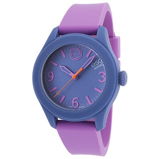 ESQ Movado Women's Analog Water-Resistant Multicolor Purple Watch