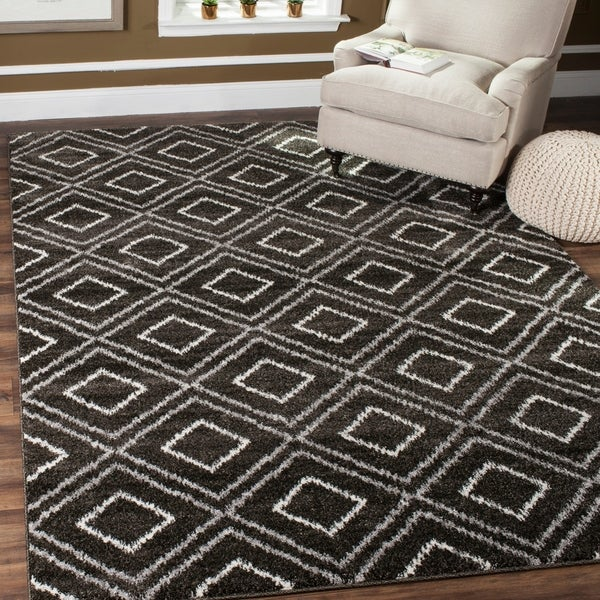 Safavieh Tunisia Anthracite/ Cream Rug - 9' x 12'