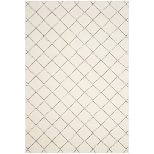 Safavieh Tunisia Ivory/ Light Grey Rug - 8' x 10'