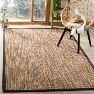 Safavieh Casual Natural Fiber Hand-Woven Natural / Brown Sisal Rug (8' x 10')