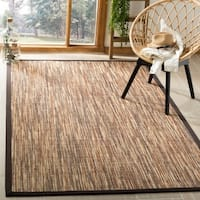 Safavieh Casual Natural Fiber Hand-Woven Natural / Brown Sisal Rug - 9' x 12'