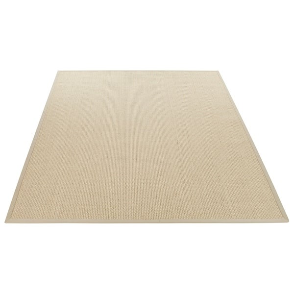 Safavieh Casual Natural Fiber Handmade Light Grey Sisal Rug - 9' x 12'
