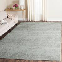 Safavieh Paradise Light Grey/ Spruce Viscose Rug - 8' x 11'2