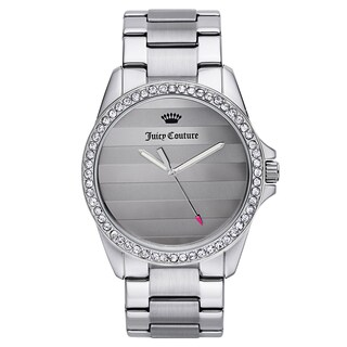 Juicy Couture Women's Silvertone Stainless Steel Japanese Quartz Watch