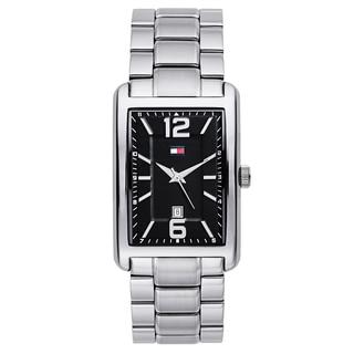 Tommy Hilfiger Men's Silvertone Stainless Steel Japanese Quartz Watch