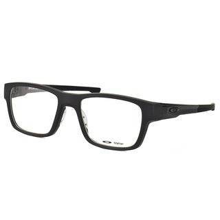 Oakley Splinter OX8077-0152 Satin Black Plastic Rectangle 52mm Eyeglasses