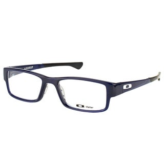 Oakley Airdrop OX8046-0453 Blue Ice Plastic Rectangle 53mm Eyeglasses