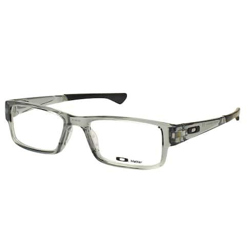 03c60942b1309 Oakley Airdrop OX8046-0353 Grey Shadow Plastic Rectangle 53mm Eyeglasses