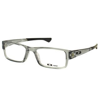 Oakley Airdrop OX8046-0353 Grey Shadow Plastic Rectangle 53mm Eyeglasses