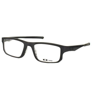 Oakley Voltage OX8049-0153 Satin Black Plastic Rectangle 53mm Eyeglasses