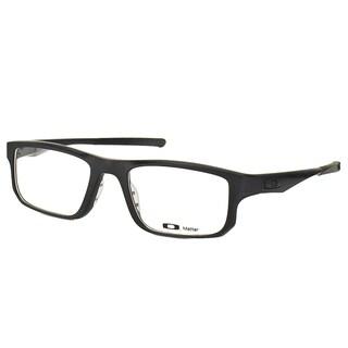 Oakley Voltage OX8049-0153 Satin Black Plastic Rectangle 53mm Eyeglasses
