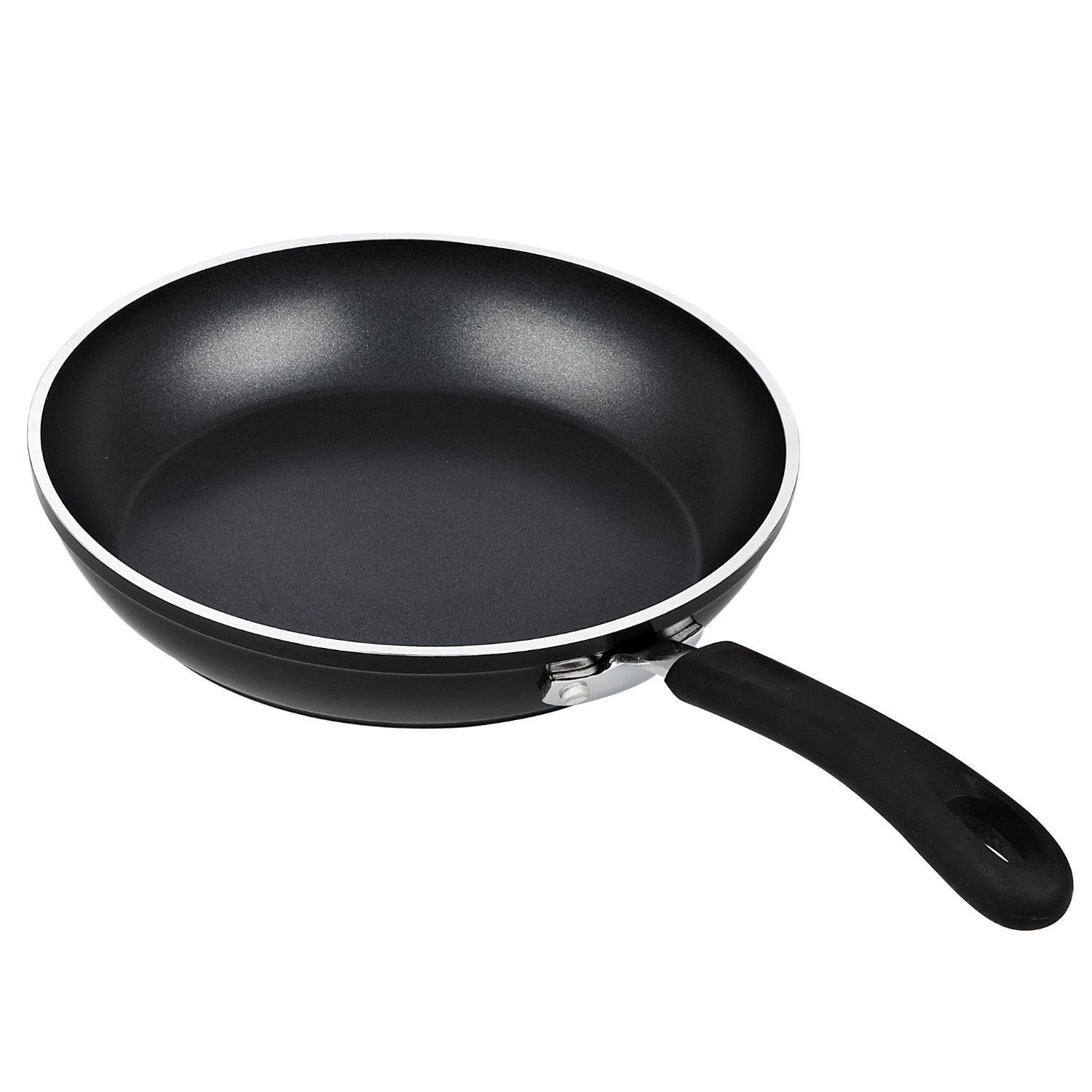 Cook N Home 3 Piece Frying Pan Saute Pan Set With Nonstick Coating Induction Compatible Bottom 8 10 12 Black Overstock 11741304