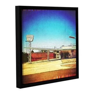 Greg Simanson's 'Fuel' Gallery Wrapped Floater-framed Canvas