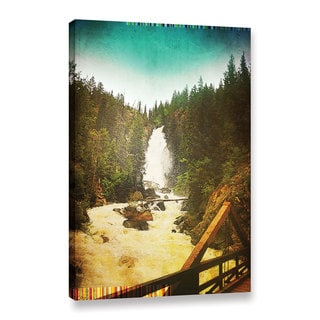 Greg Simanson's 'Pines' Gallery Wrapped Canvas