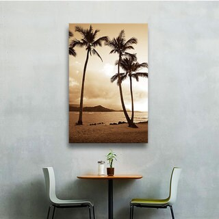 Kathy Yates's 'Bali Hai Island Time' Gallery Wrapped Canvas