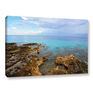 Kathy Yates's 'Caribbean Dreams' Gallery Wrapped Canvas