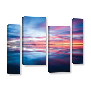 Cody York's 'Bonnieville salt Flats' 4 Piece Gallery Wrapped Canvas Staggered Set