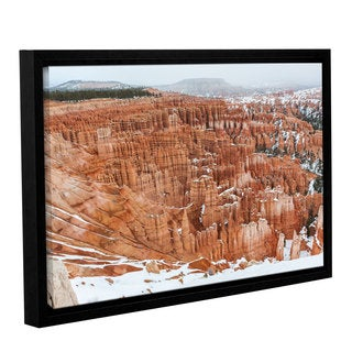 Cody York's 'Bryce Canyon ' Gallery Wrapped Floater-framed Canvas