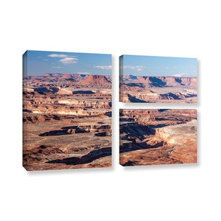 Cody York's 'Canyonlands Horizontal' 3 Piece Gallery Wrapped Canvas Flag Set