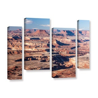 Cody York's 'Canyonlands Horizontal' 4 Piece Gallery Wrapped Canvas Staggered Set