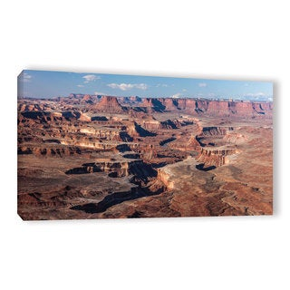 Cody York's 'Canyonlands Panoramic' Gallery Wrapped Canvas