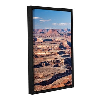Cody York's 'Canyonlands Vertical' Gallery Wrapped Floater-framed Canvas