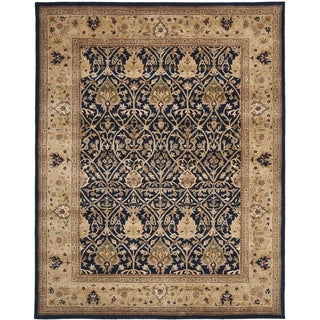 Safavieh Handmade Persian Legend Blue/ Gold Wool Rug (9' x 12')