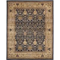 Safavieh Handmade Persian Legend Blue/ Gold Wool Rug - 9' x 12'
