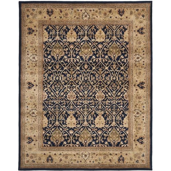 Safavieh Handmade Persian Legend Blue/ Gold Wool Rug (9' x 12')