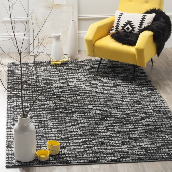 Safavieh Porcello Modern Light Grey/ Charcoal Rug - 8' x 10'