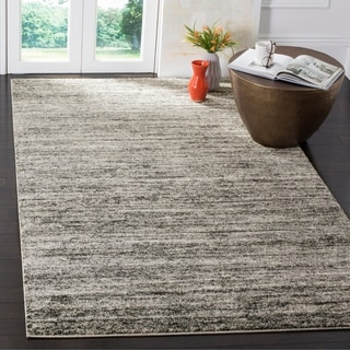 Safavieh Retro Ivory/ Grey Rug (8' x 10')