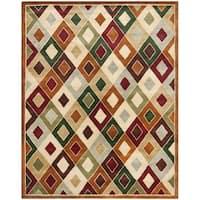 Safavieh Handmade Royalty Tufted Assorted Wool Rug - 10' x 14'