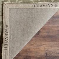 Safavieh Handmade Restoration Vintage Light Sage/ Grey Wool Distressed Area Rug - 8' x 10'