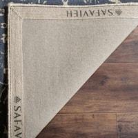 Safavieh Handmade Restoration Vintage Ivory / Blue Wool Distressed Rug - 8' x 10'