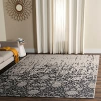 Safavieh Handmade Restoration Vintage Silver/ Grey Wool Distressed Rug - 8' x 10'