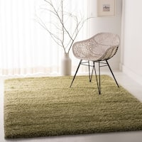 Safavieh California Cozy Plush Green Shag Rug (6' 7 x 9' 6)