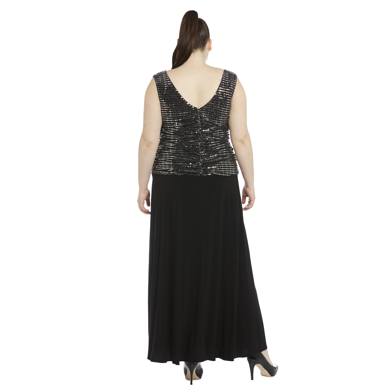 R&M Richards Women\'s Plus-size Gown