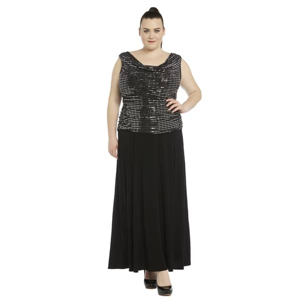 ad55b067e07 Shop R M Richards Women s Plus-size Gown - On Sale - Free Shipping ...
