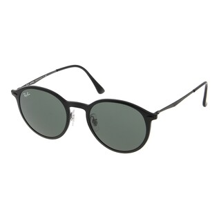 Ray-Ban RB4224 601S71 49mm Green Classic Lenses Black Frame Sunglasses