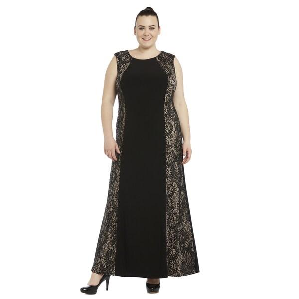 0d374c02b33 Shop R M Richards Women s Plus Size Lace Gown - Free Shipping Today ...