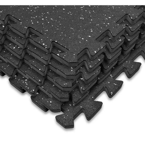 Rubber Interlocking Gym Tiles